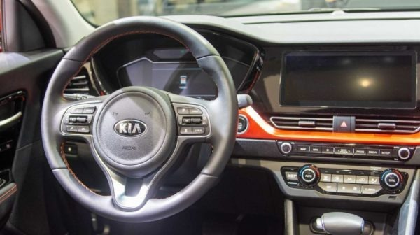 2020 Kia Niro Steering Wheel Close view