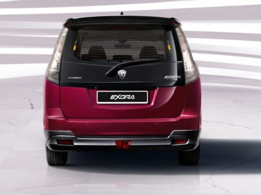 2020 Proton Exora Full rear view