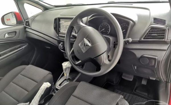 2020 Proton Iriz front cabin interior view