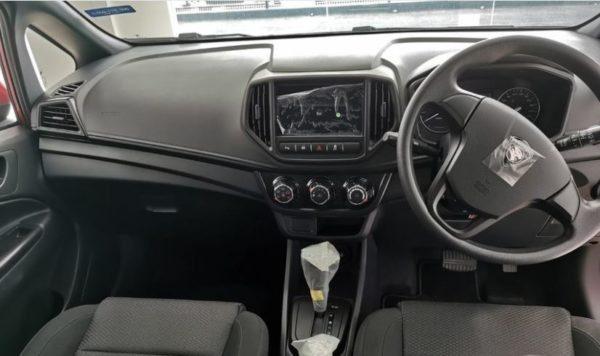 2020 Proton Iriz steering wheel & infotainment screen