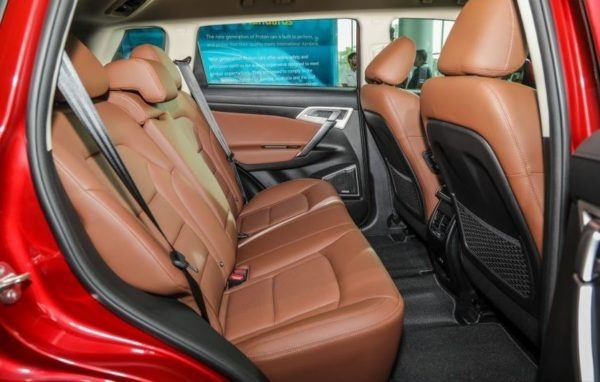 2020 Proton X 70 Rear Seats view