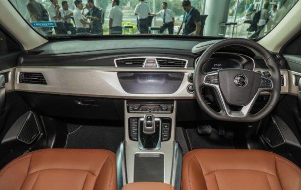 2020 Proton X 70 front cabin interior view