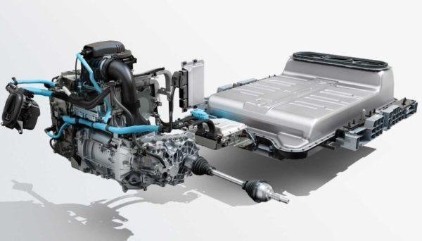 2020 Renault Zoe Battery & engine