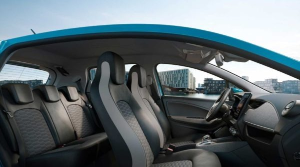 2020 Renault Zoe Full Interior with All Seats