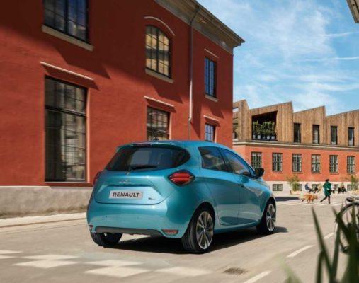 2020 Renault Zoe Rear View