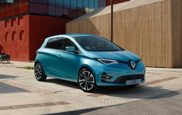 2020 Renault Zoe Side view