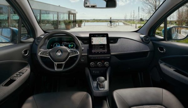 2020 Renault Zoe Steering, entertainment screen & dashboard
