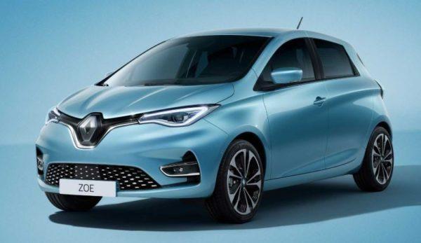 2020 Renault Zoe Title Image