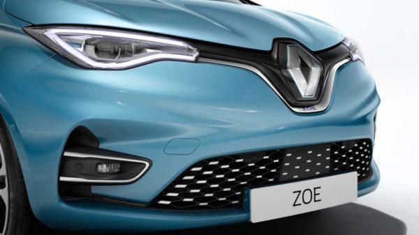 2020 Renault Zoe close front view