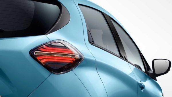 2020 Renault Zoe rear tail light