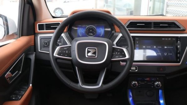 2020 Zotye z100 steering wheel & information cluster