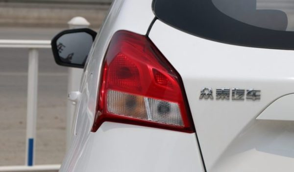 2020 Zotye z100 tail lights