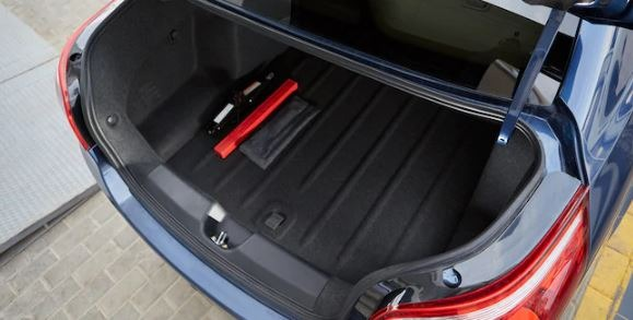 2020 chevrolet optra trunk space