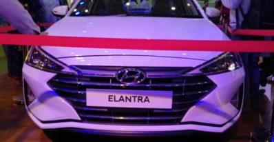 2020 Hyundai Elantra Displayed by Company at Lahore Pakistan Auto Show (feb 2020)