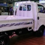 2020 Hyundai Porter H-100 Displayed by Hyundai at Lahore Pakistan Auto Show (feb 2020)
