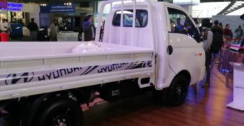2020 Hyundai Porter H-100 Displayed by Hyundai at Lahore Pakistan Auto Show (feb 2020)