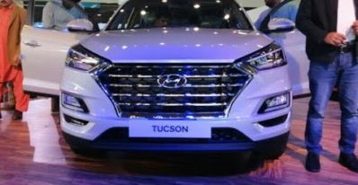 2020 Hyundai Tucson H-Track Displayed by Hyundai at Lahore Pakistan Auto Show (feb 2020)