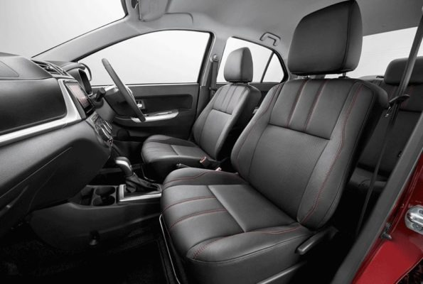 2020 perodua Bezza front seats