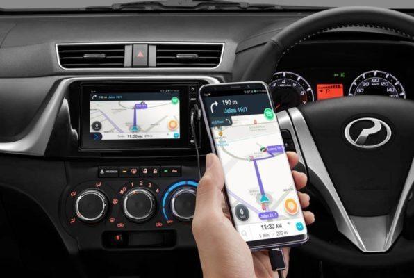 2020 perodua Bezza infotainment screen & navigation view