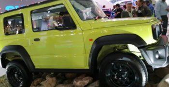2020 Suzuki Jimny Displayed by Company at Lahore Auto Expo (Feb- 2020)