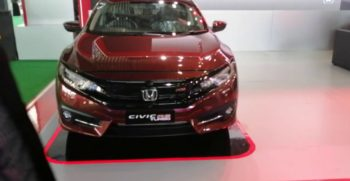 2020 Honda Civic Turbo RS Displayed by Honda at Lahore Pakistan Auto Show (feb 2020)