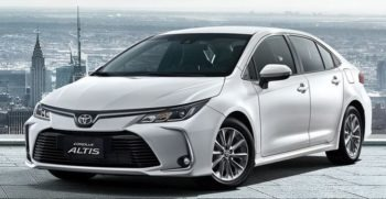12th Generation Toyota Corolla Altis Feature Image