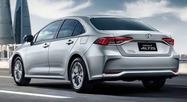 12th Generation Toyota Corolla Altis Rear View