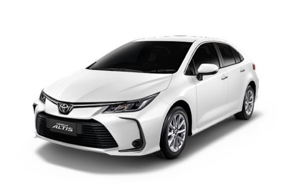 12th Generation Toyota Corolla Altis front view