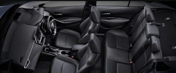 12th Generation Toyota Corolla Altis full interior view