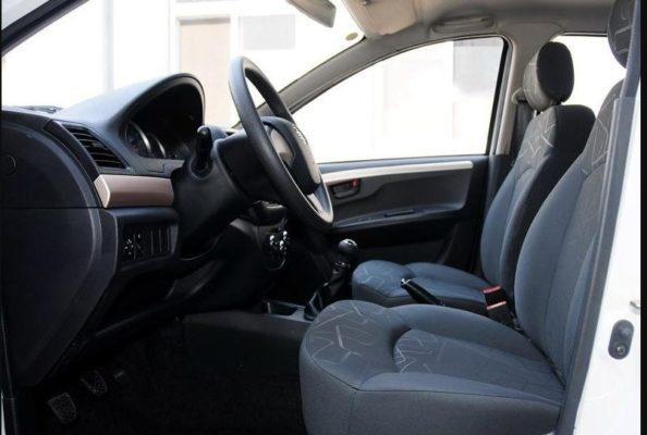 2018 faw Vita V5 front seats