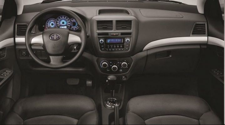 2018 faw Vita V5 interior view