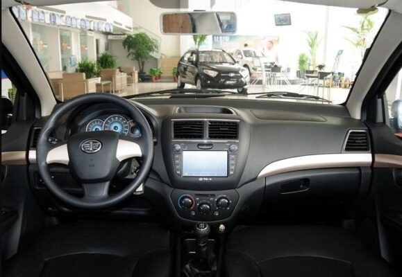 2018 faw Vita V5 with infotainment screen