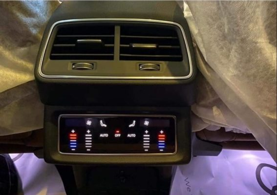 2020 All Electric Audi E-tron comfort view
