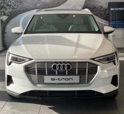 2020 All Electric Audi E-tron front view