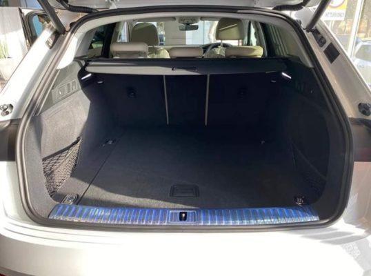 2020 All Electric Audi E-tron luggage Area View