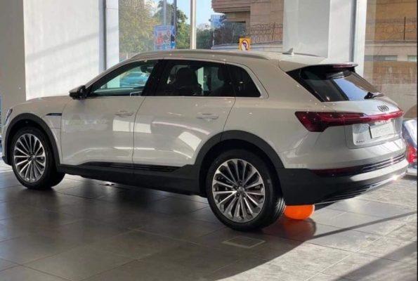 2020 All Electric Audi E-tron side-rear View