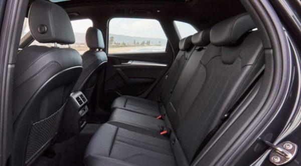 2020 Audi Q5 Rear Seats