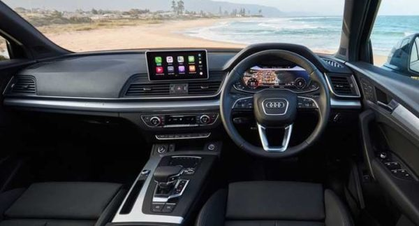 2020 Audi Q5 full front Cabin interior View