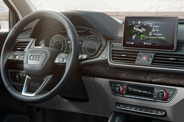 2020 Audi Q5 infotainment Screen View