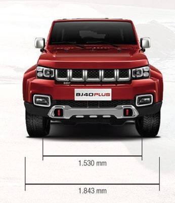 2020 BAIC BJ40 Plus Front View
