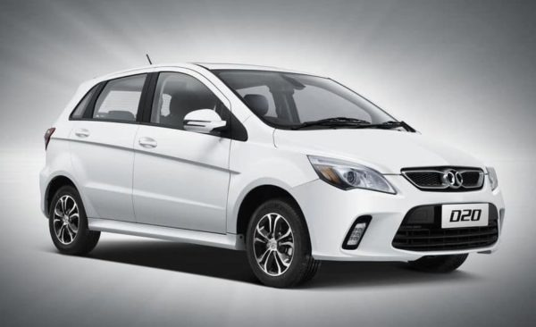 2020 BAIC D20 Side View 2