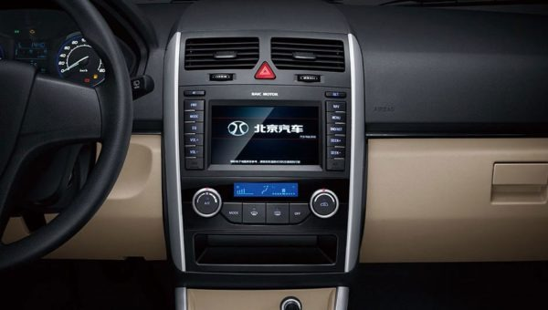 2020 BAIC D20 infotainment Screen