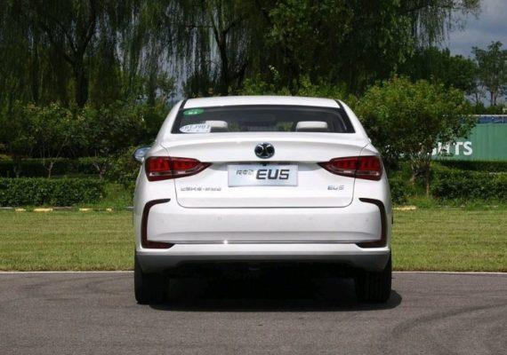 2020 BAIC EU500 Rear View