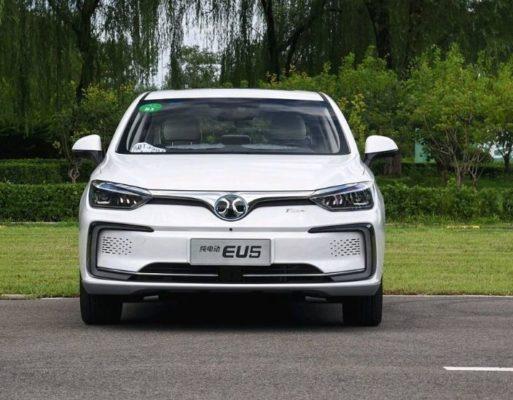 2020 BAIC EU500 front View