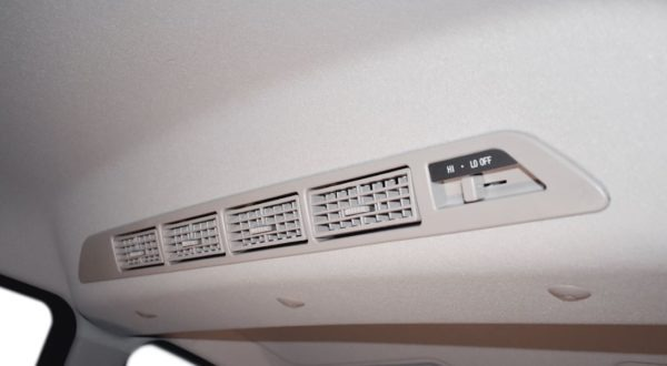 2020 BAIC M50S Rear Air Vents View