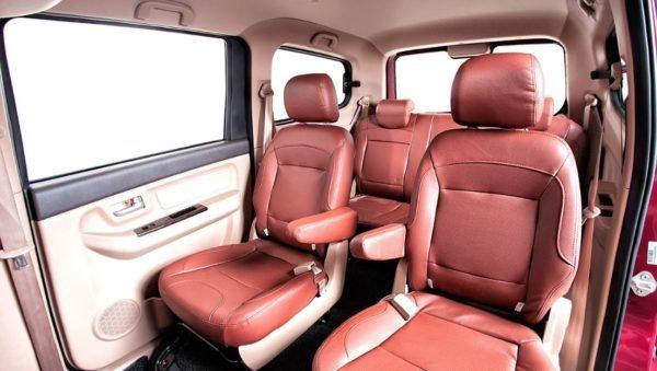 2020 BAIC M50S Rear Seats