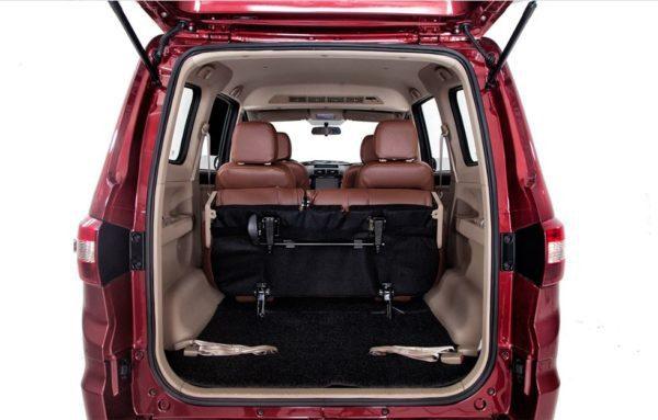 2020 BAIC M50S luggage Area View