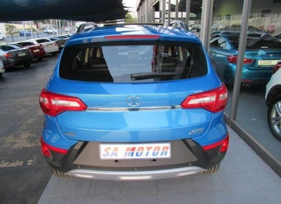 2020 BAIC X25 Rear View