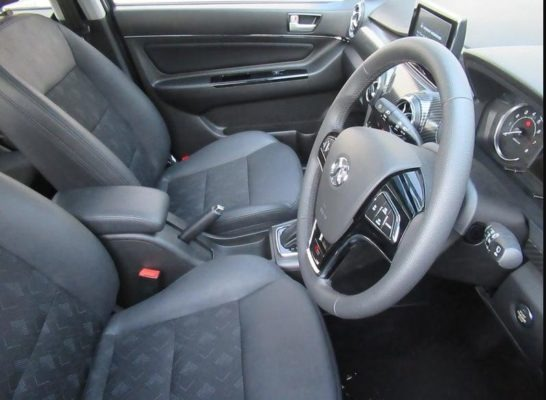 2020 BAIC X25 front seats