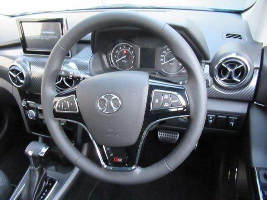 2020 BAIC X25 steering wheel & information Cluster